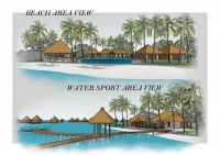Beach & Water Sport Area View